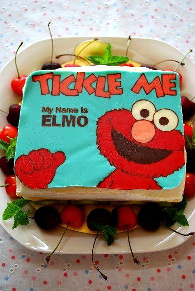 エルモケーキ①
