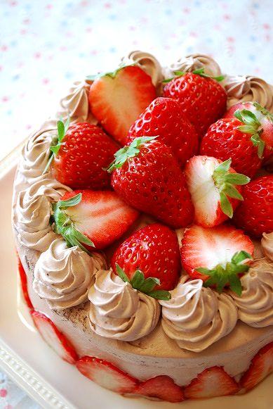 いちごチョコケーキ5号①