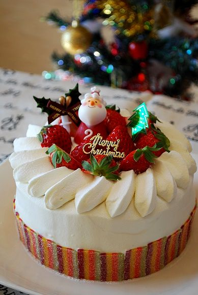 2013クリスマスケーキ①