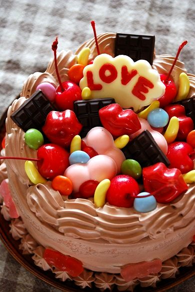 バレンタインチョコケーキ①