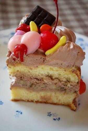 バレンタインチョコケーキ②