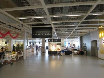 レストラン&カフェ入口