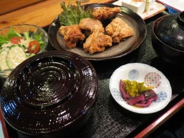 カラアゲ定食 850円