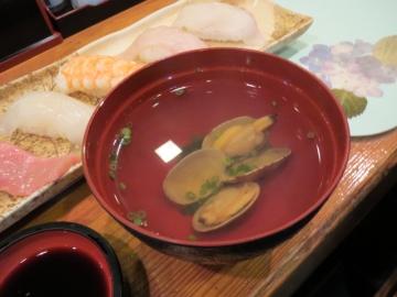 寿司の吸い物