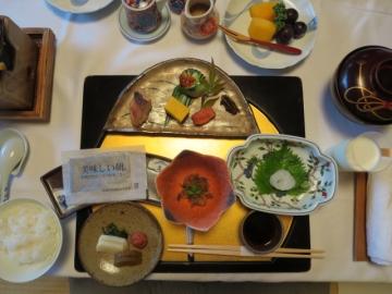 部屋での朝食 (3)