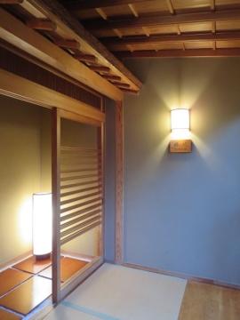 部屋は「梧竹」