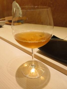 本日2杯目のビオワイン