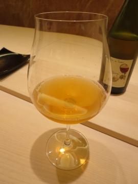 本日3杯目のビオワイン