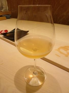 本日4杯目のビオワイン