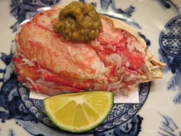 解してある蟹って美味しいですよねぇ、味噌も最高!