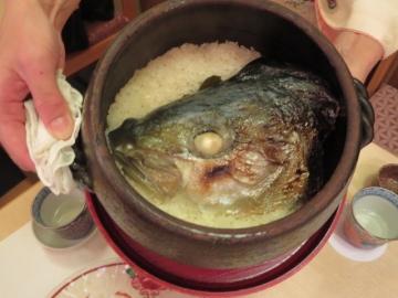 土鍋で鰤飯