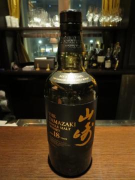 山崎18年ボトル