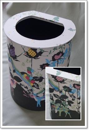 壁掛け用ゴミ箱