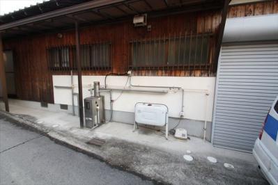 001 生口島 F様邸 省エネフルオートタイプエコキュート電気温水器 工事  正義の味方 べんりMAN 15