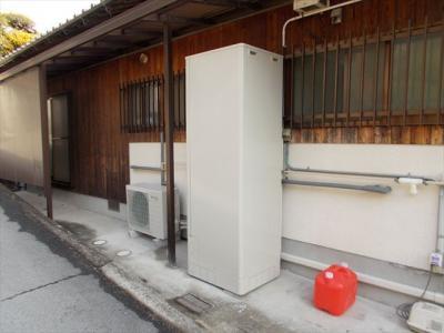 004 生口島 F様邸 省エネフルオートタイプエコキュート電気温水器 工事  正義の味方 べんりMAN 15