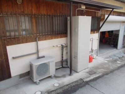 005 生口島 F様邸 省エネフルオートタイプエコキュート電気温水器 工事  正義の味方 べんりMAN 15
