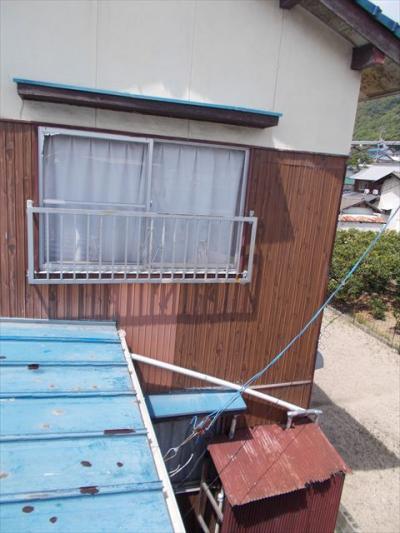 004 生口島 N様邸 さび止め屋根塗装工事  正義の味方 べんりMAN 15