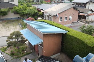 007 生口島 N様邸 さび止め屋根塗装工事  正義の味方 べんりMAN 15