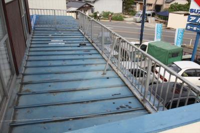 008 生口島 N様邸 さび止め屋根塗装工事  正義の味方 べんりMAN 15