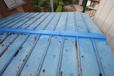 012 生口島 N様邸 さび止め屋根塗装工事  正義の味方 べんりMAN 15
