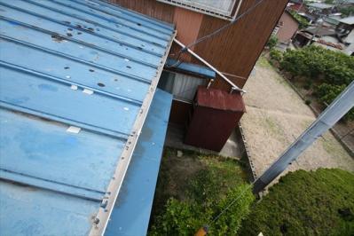 013 生口島 N様邸 さび止め屋根塗装工事  正義の味方 べんりMAN 15