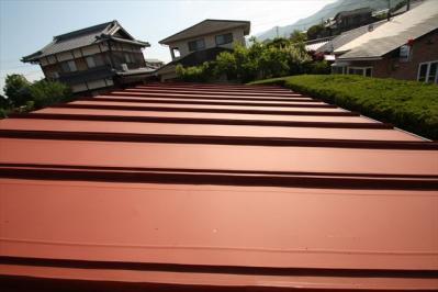 015 生口島 N様邸 さび止め屋根塗装工事  正義の味方 べんりMAN 15