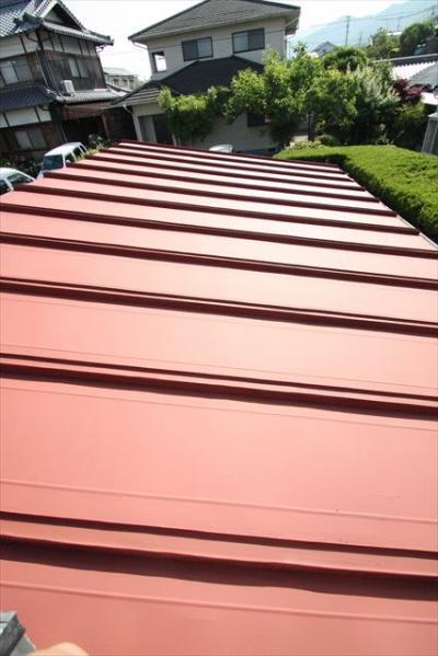 022 生口島 N様邸 さび止め屋根塗装工事  正義の味方 べんりMAN 15