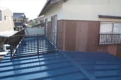 024 生口島 N様邸 さび止め屋根塗装工事  正義の味方 べんりMAN 15