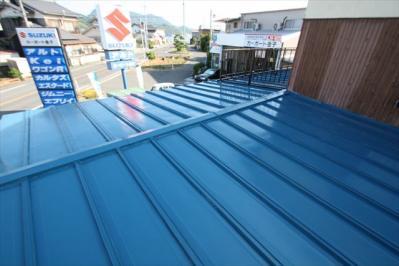 026 生口島 N様邸 さび止め屋根塗装工事  正義の味方 べんりMAN 15