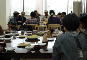 2013年10月19日食事風景