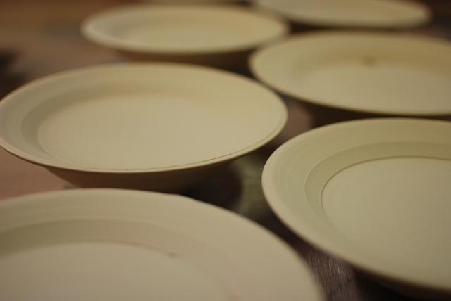 20141107輪花皿の制作1
