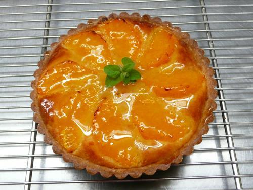 清美オレンジのタルト