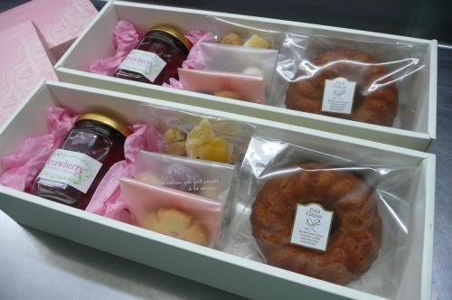 焼き菓子&クッキーとコンフィチュールのセット②