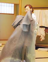 和服・牛首紬