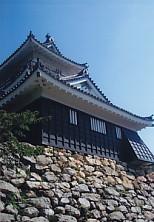 晴天の濱松城天守閣