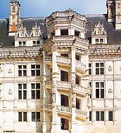 ブロワ城・螺旋階段
