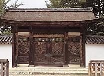 醍醐寺三寶院・勅使門