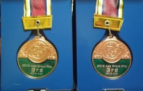 お土産…メダル