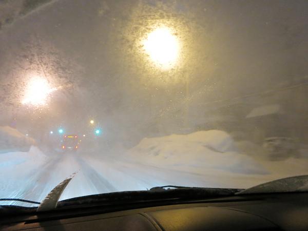 札幌 猛吹雪