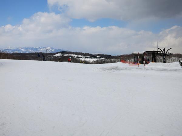 滝野スノーワールド ファミリーゲレンデ 頂上