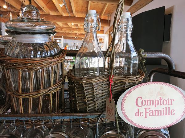 meon農苑 ロングパリッシュ 籐のかごに入ったボトル