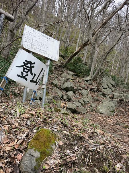 八剣山 登山口 茶太郎