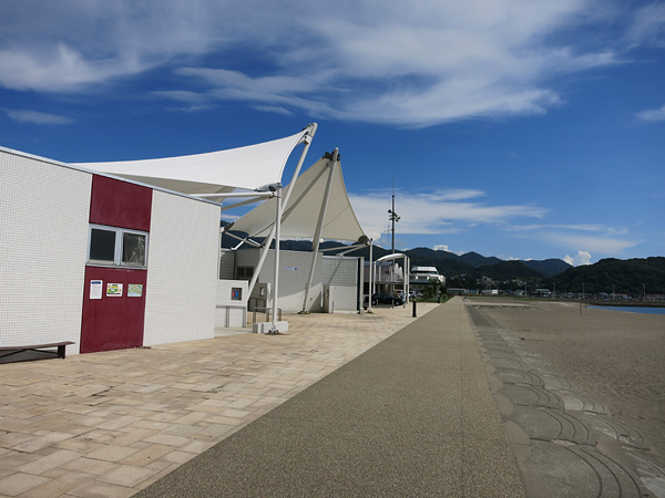 豊浦海浜公園キャンプ場 トイレ