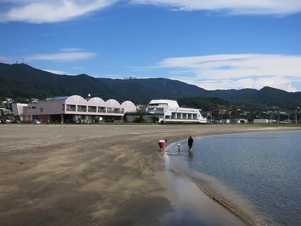 豊浦海浜公園キャンプ場 天然豊浦温泉しおさい
