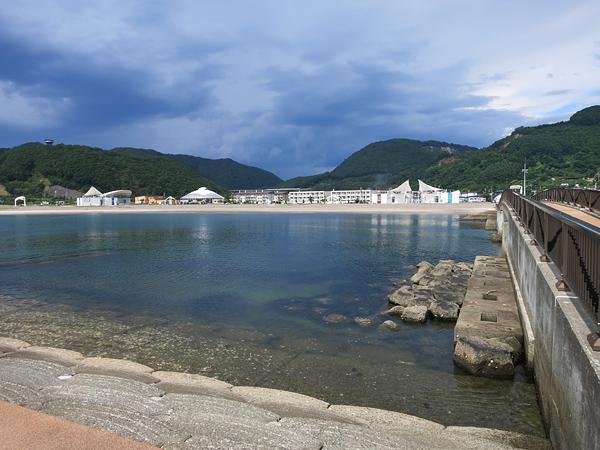 豊浦海浜公園キャンプ場 裏は住宅街