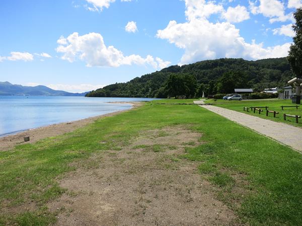 曙公園 キャンプ場