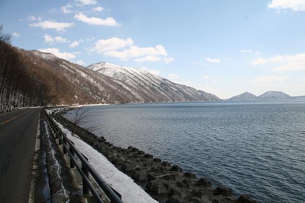 支笏湖 紋別岳 キムンモラップ山 モラップ山