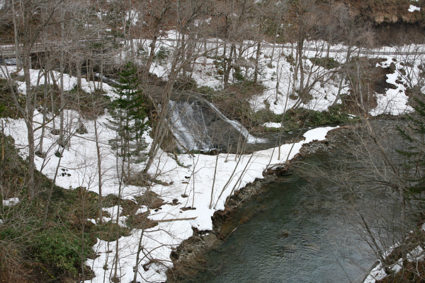 恵庭渓谷 ラルマナイの滝