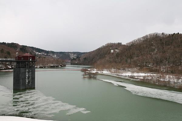 恵庭渓谷 漁川ダム