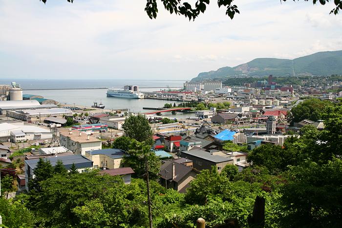小樽 水天宮 小樽港